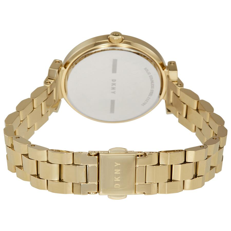 DKNY Ellington Gold-tone Ladies Watch NY2583 - DKNY - Watches - Jomashop d16078803bfc3