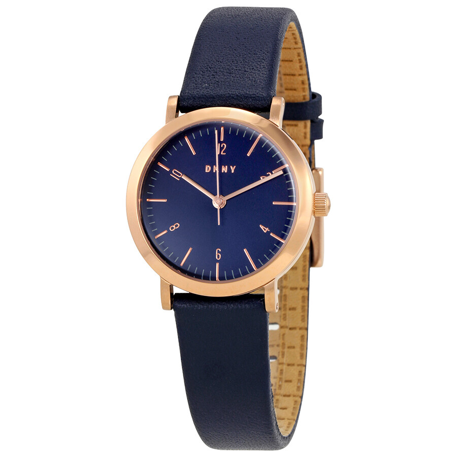 Dkny minetta blue dial ladies watch ny2617 dkny watches jomashop for Dkny watches