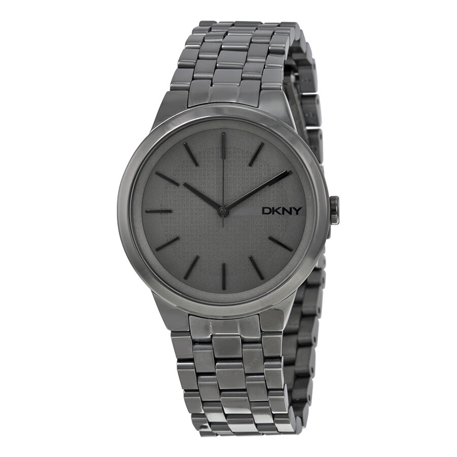 Dkny park slope grey dial ladies watch ny2384 dkny watches jomashop for Dkny watches