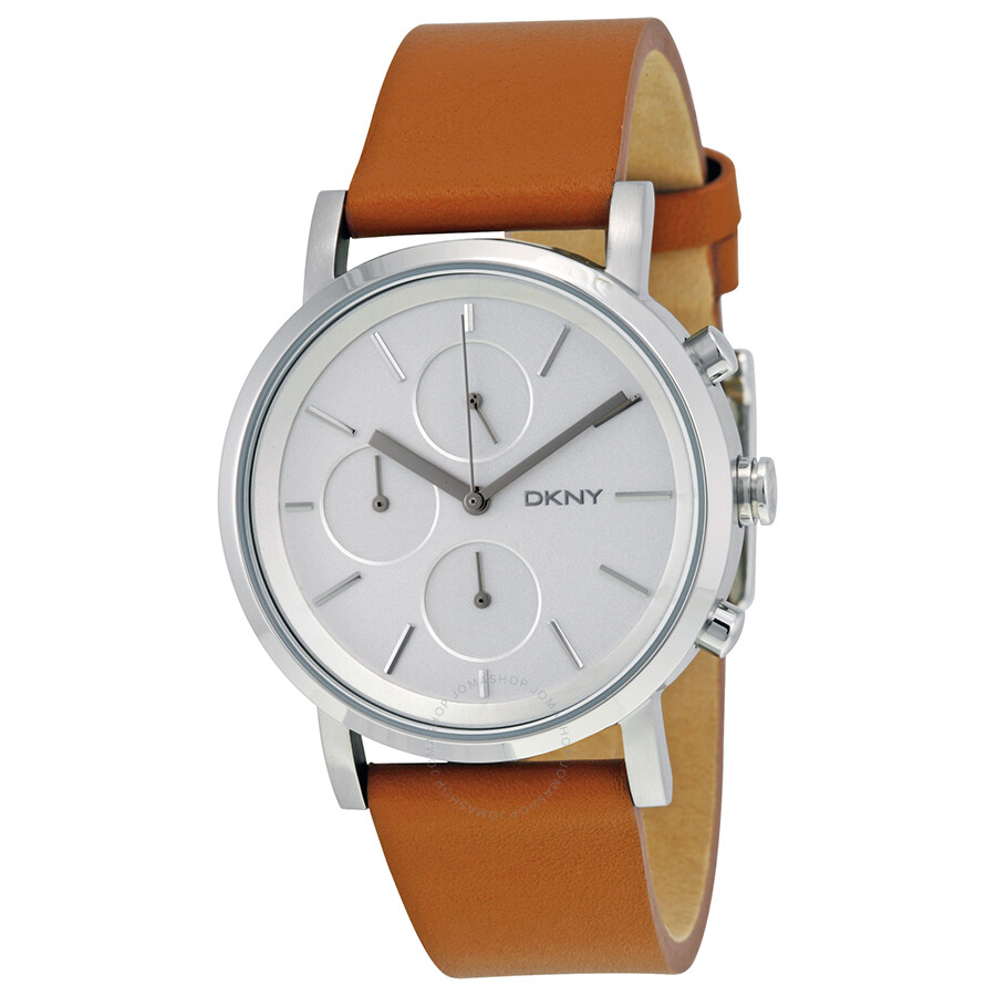 a675c8399 DKNY Soho Chronograph Light Brown Leather Strap Ladies Watch NY2336 ...