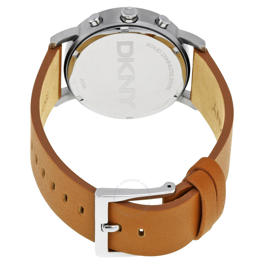 8a5a57862 ... DKNY Soho Chronograph Light Brown Leather Strap Ladies Watch NY2336