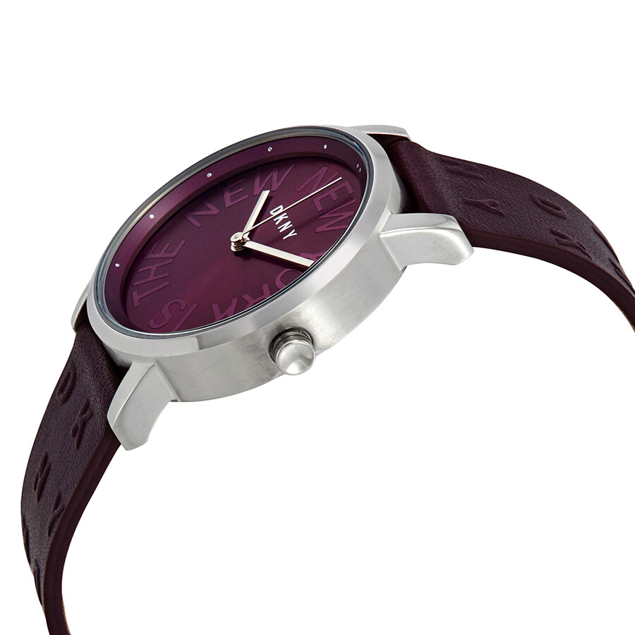 51a7e24d4df DKNY Soho Purple Dial Ladies Watch NY2762 - DKNY - Watches - Jomashop