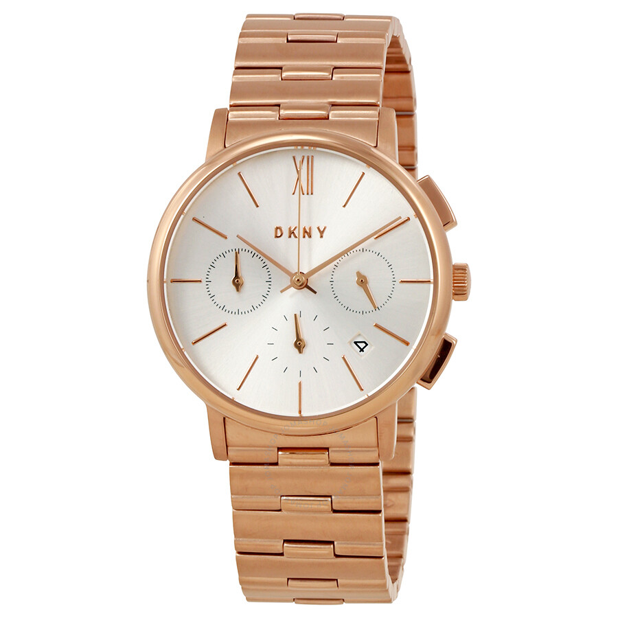 Dkny willoughby silver dial ladies chronograph watch ny2541 dkny watches jomashop for Dkny watches