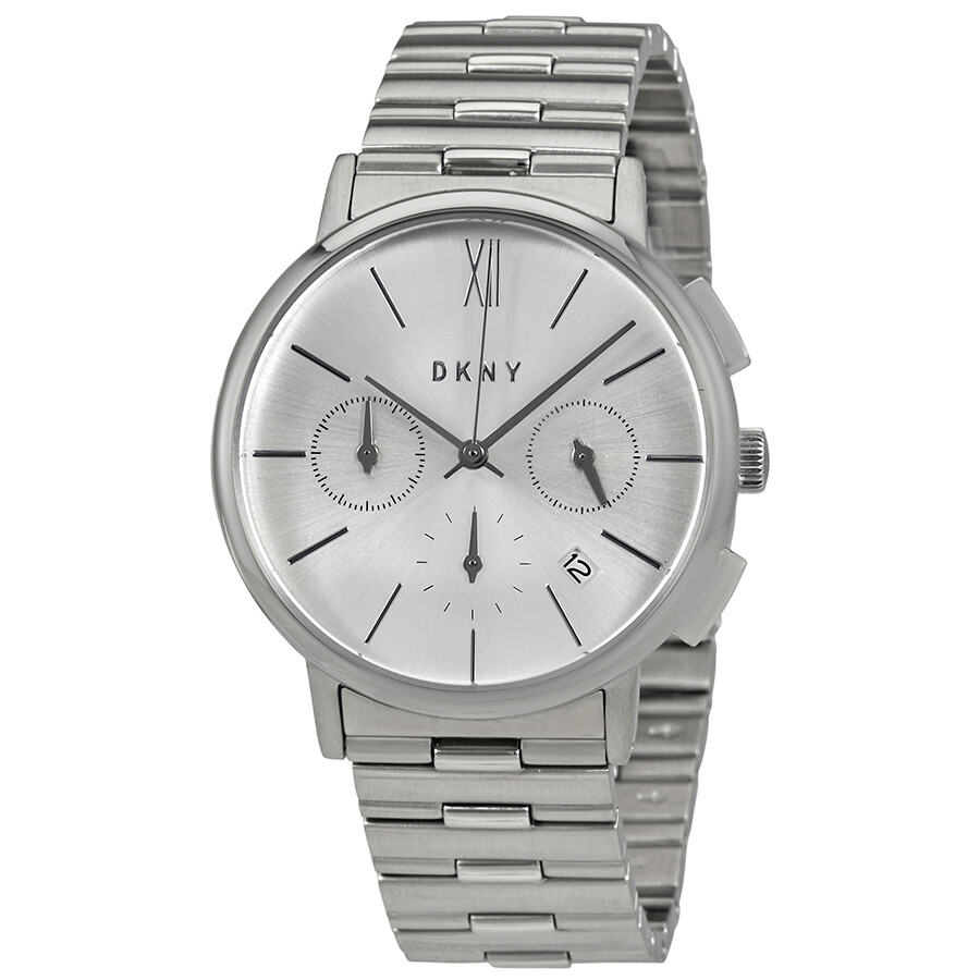Dkny willoughby silver dial ladies watch ny2539 dkny watches jomashop for Dkny watches