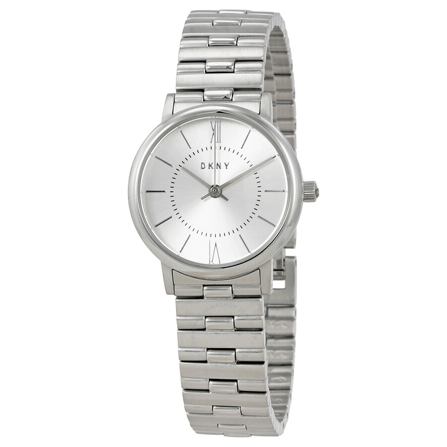 Dkny willoughby silver dial ladies watch ny2547 dkny watches jomashop for Dkny watches