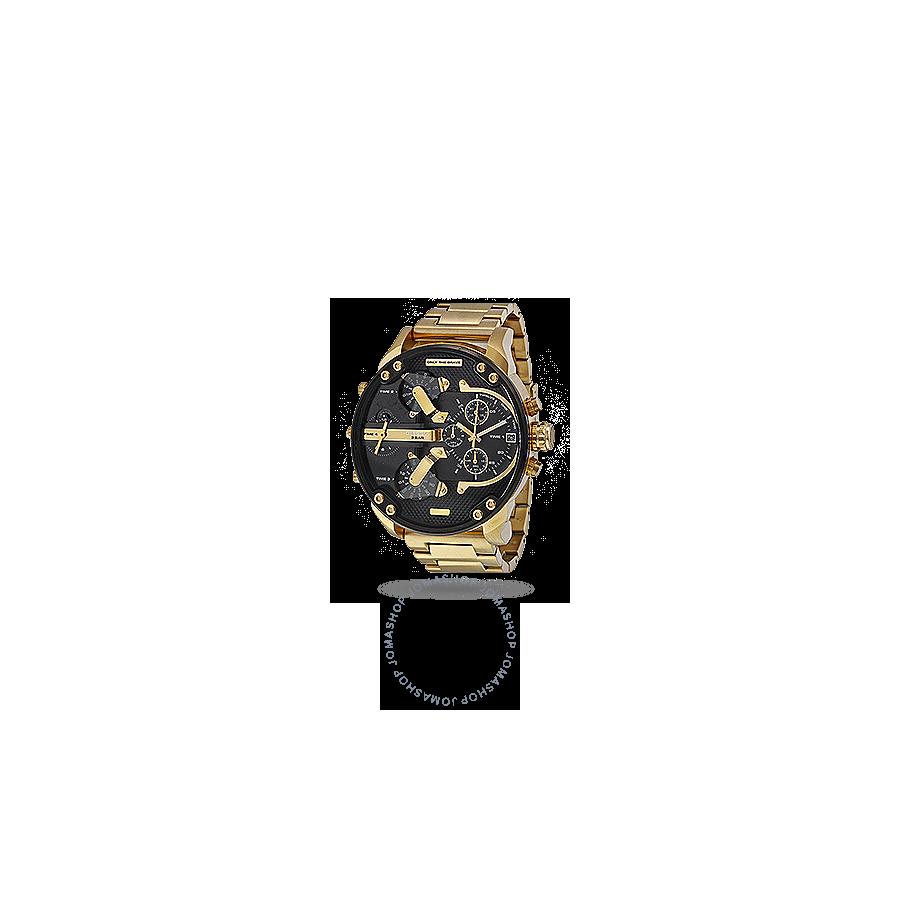 cfc0f18ff76c Diesel Mr. Daddy 2.0 Black Dial Quartz Men s Watch DZ7333 - Diesel -  Watches - Jomashop