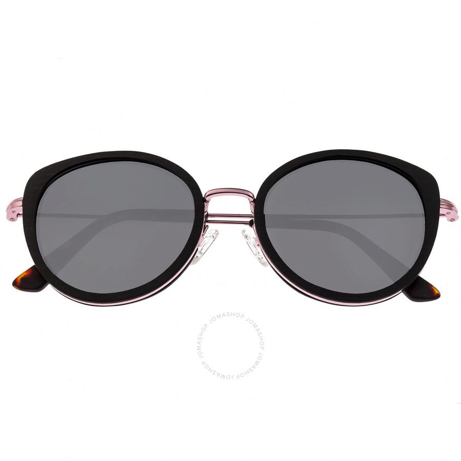 a261afcfd Oreti Pink Metal Wayfarer Sunglasses - Espresso Wood - Earth ...