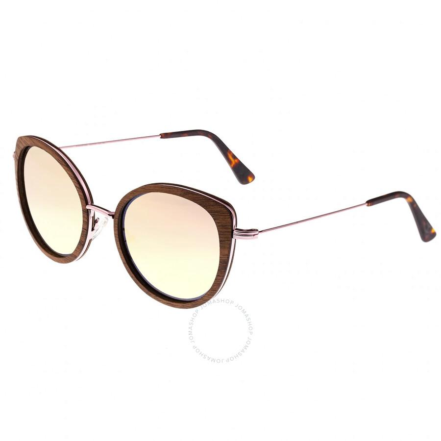 582afec63 Oreti Pink Metal Wayfarer Sunglasses - Red Rose Wood - Earth ...