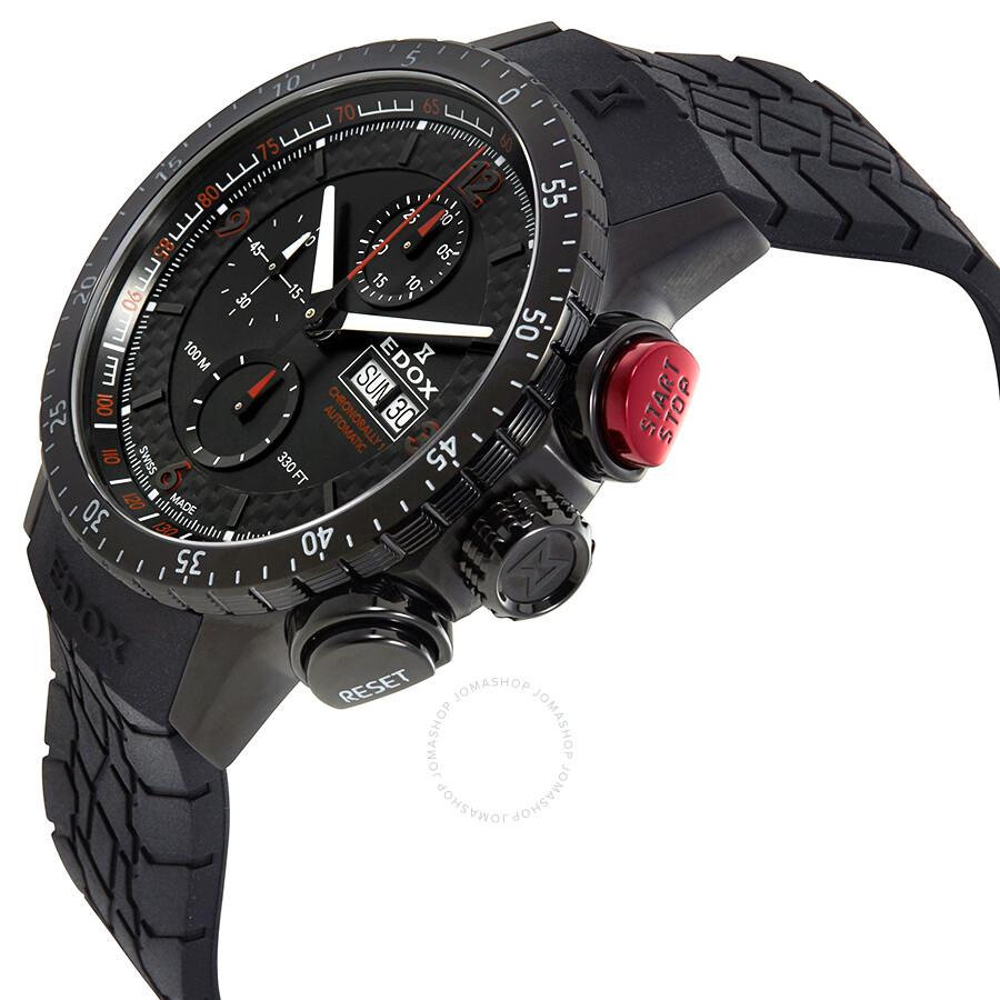 ... Edox Chronorally-1 Chronograph Automatic Men s Watch 01118-37NR-NRO ... bce1b238e73