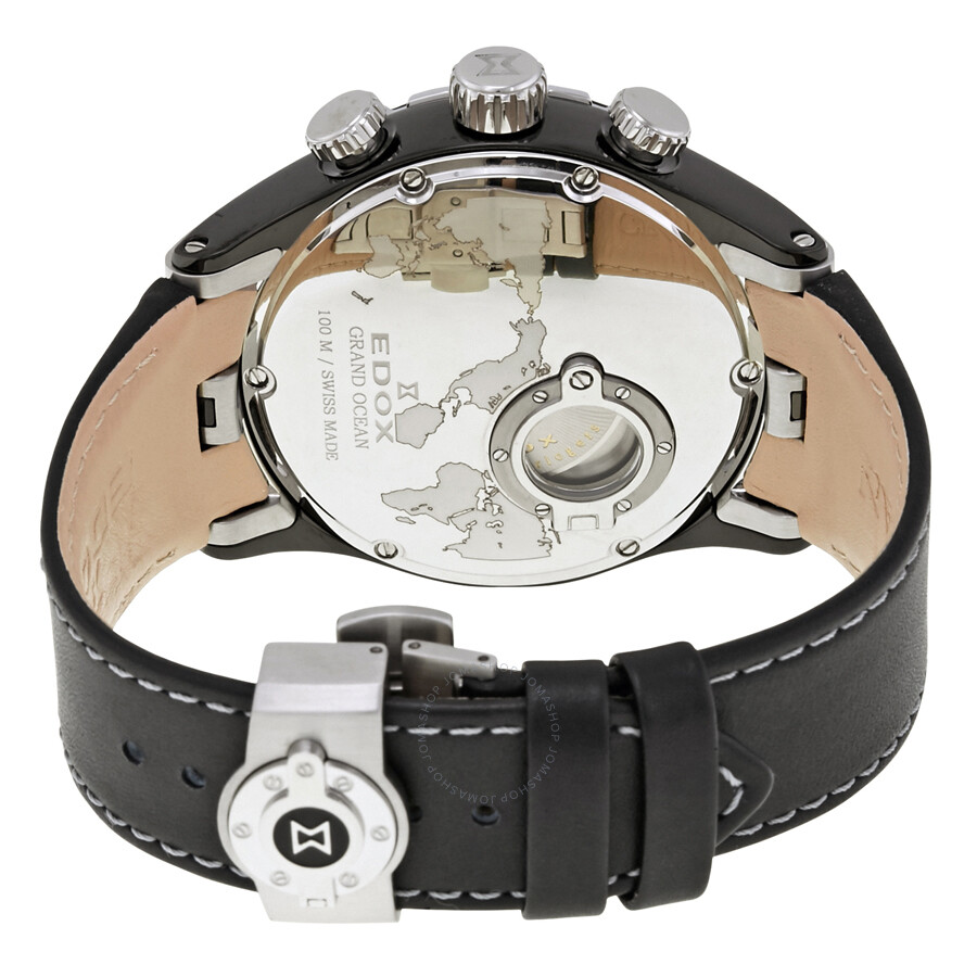Grand Chronograph 357n Ocean 01121 Watch Edox Men's Automatic Nin nyN80vmOwP