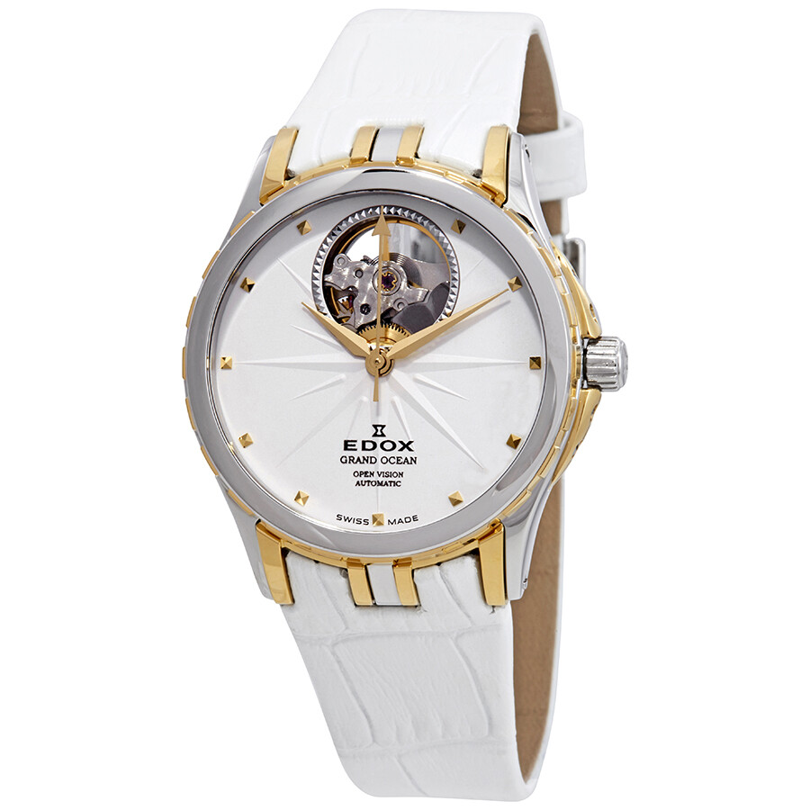 Watches, Parts & Accessories Professional Sale Edox Ladies Watch