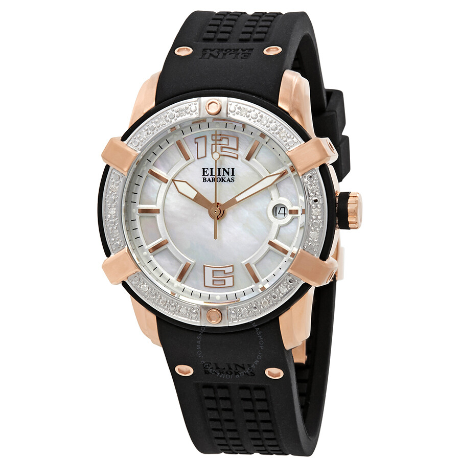 Elini Barokas Spirit Ladies Watch ELINI-20005D-RG-02-SB ...