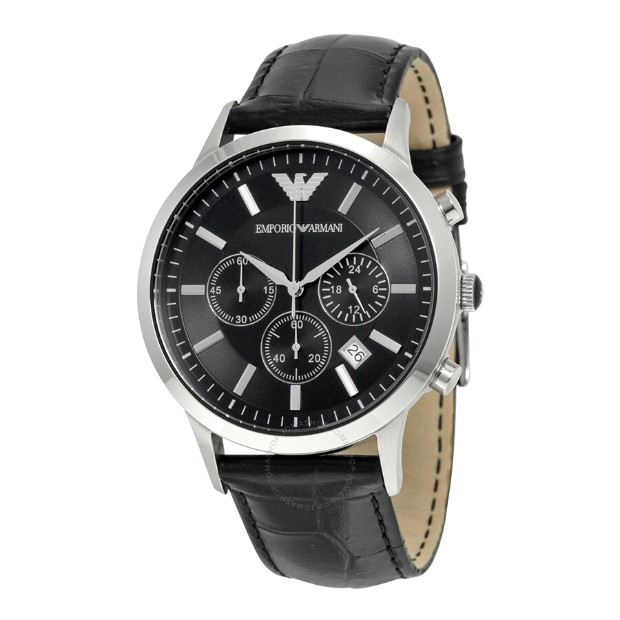 Emporio Armani Chronograph Black Dial Men s Watch AR2447 - Emporio ... 825d96d05