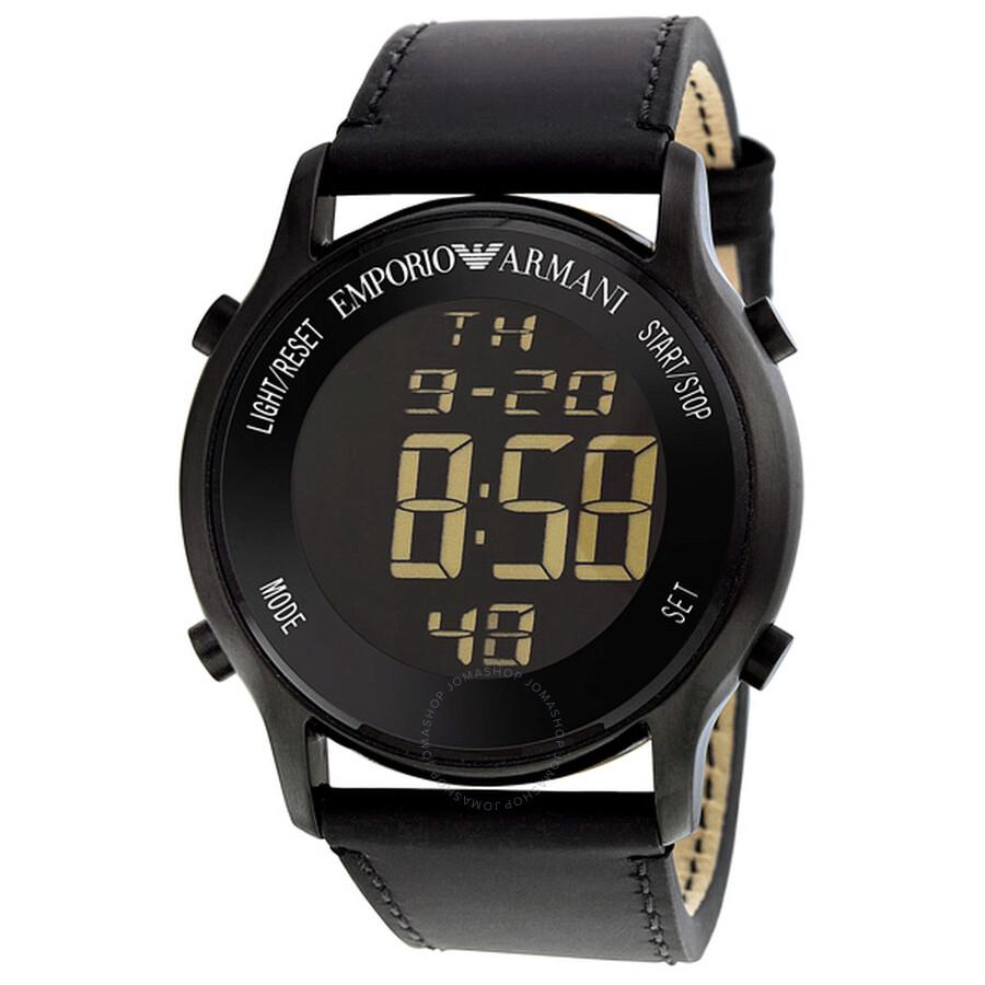 armani chronograph