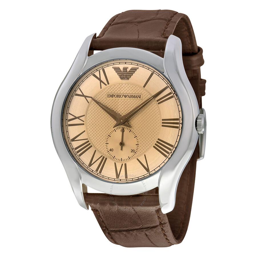 Emporio Armani Classic Amber Dial Men s Watch AR1704 - Emporio ... 4a9b46892ae91