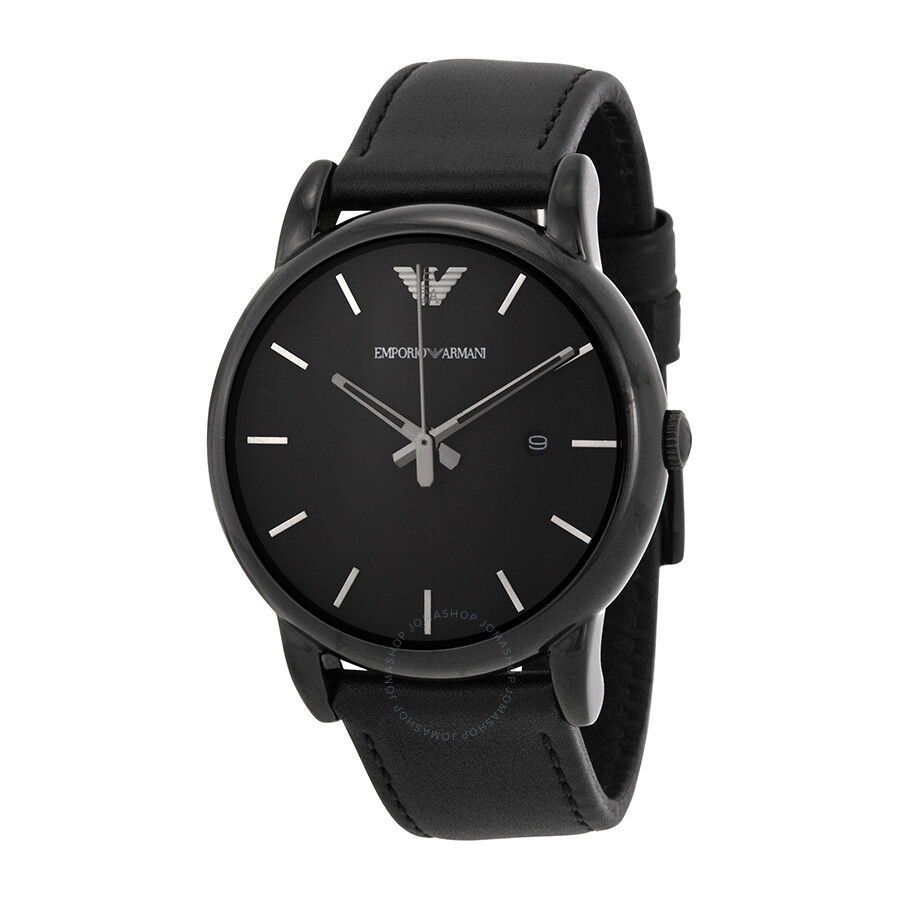 emporio armani classic black dial men s watch ar1732 emporio emporio armani classic black dial men s watch ar1732