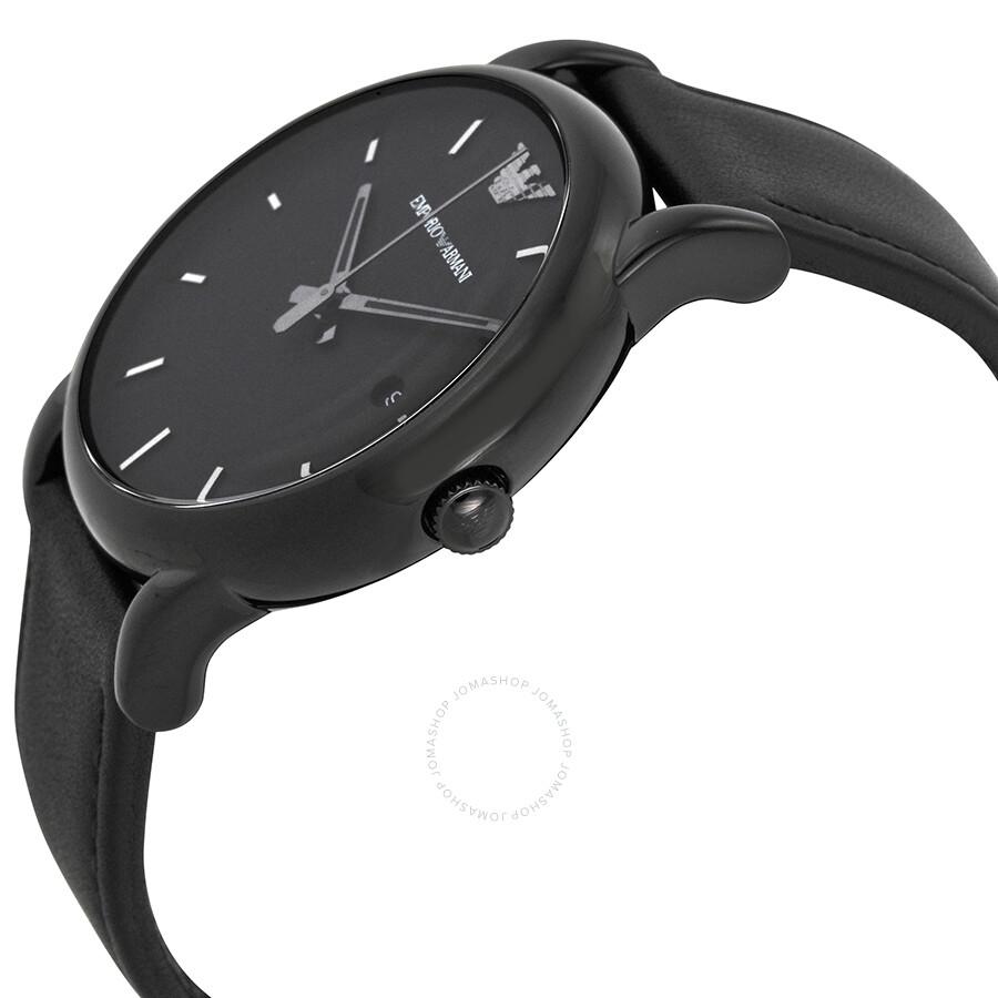 Emporio Armani Classic Black Dial Men's Watch AR1732 ...