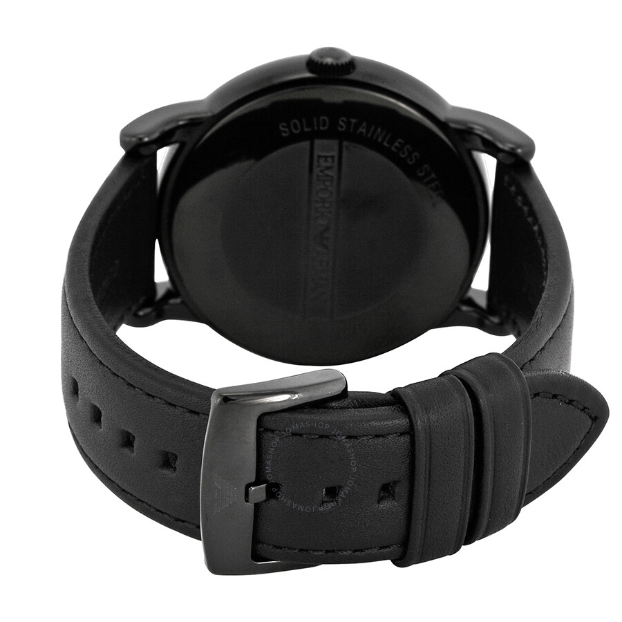 96dc1280 Emporio Armani Classic Black Dial Men's Watch AR1732