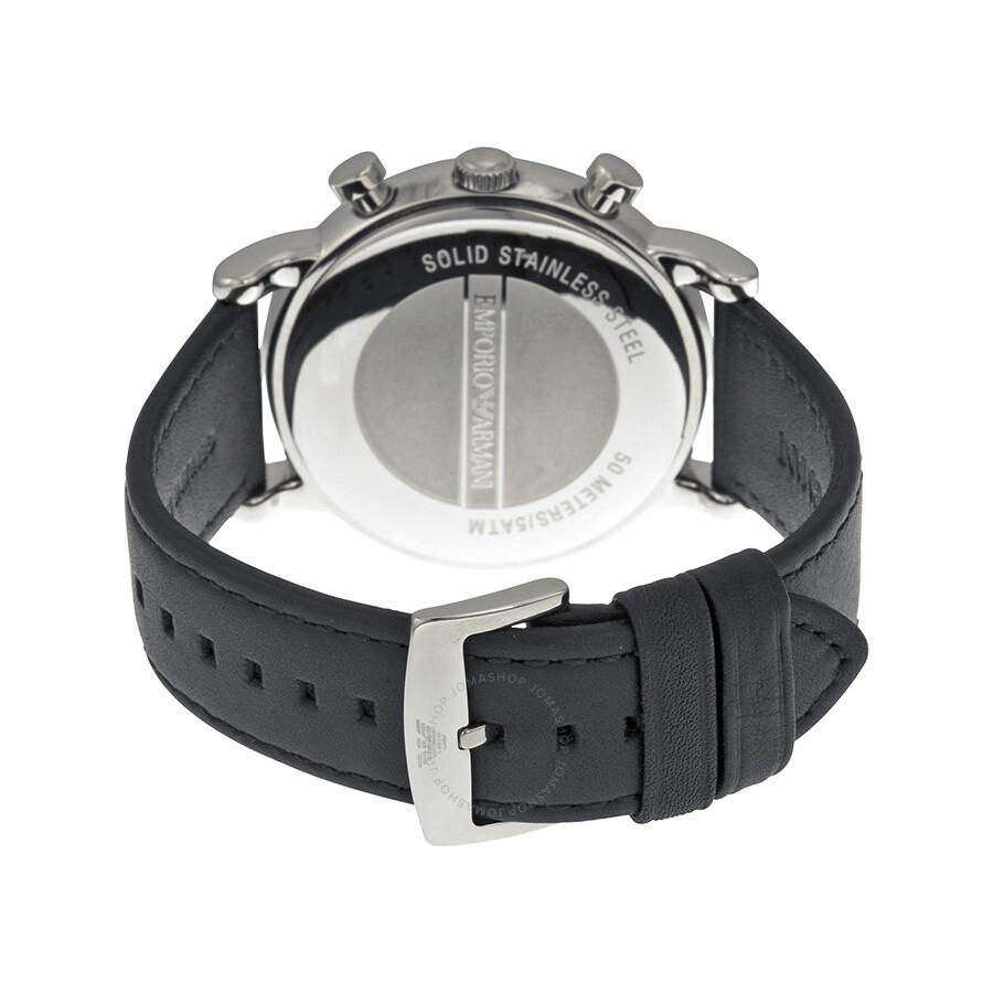 965b9d464da3 ... Emporio Armani Classic Chronograph Black Dial Men s Watch AR1828 ...