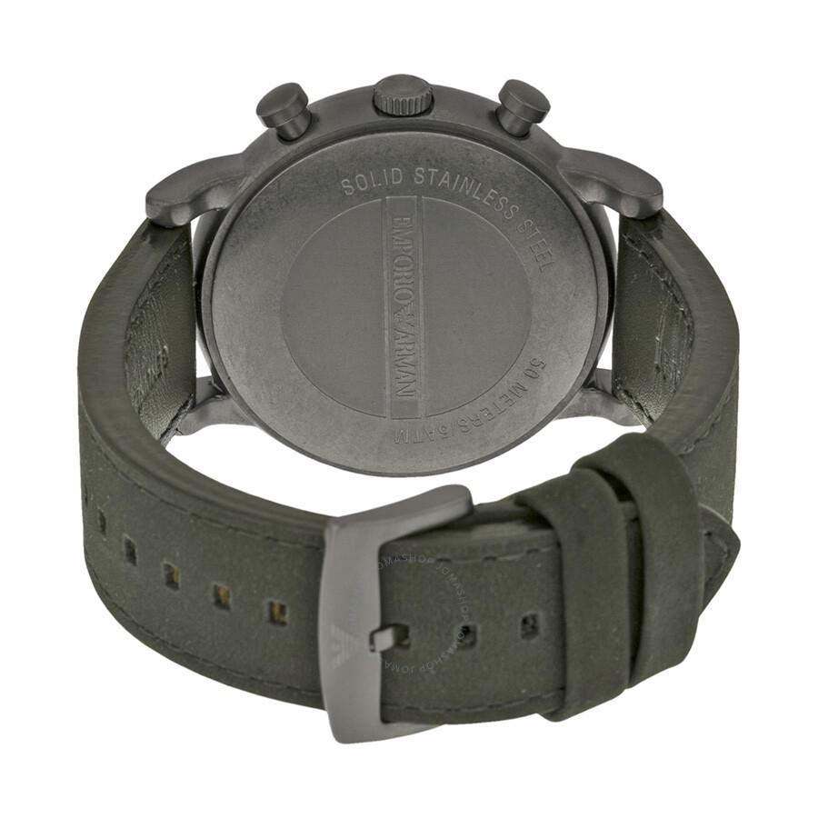 90c17cb6740 ... Emporio Armani Classic Chronograph Grey Camouflage Dial Men s Watch  AR1816