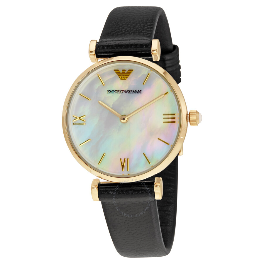 e7f76a3c09d Women Watches. Sort By. Set. Emporio Armani Classic Mother Of Pearl Dial Ladies  Watch. Regular Price . Emporio Armani Ar1400 Ceramic Black Chronograph Dial  ...