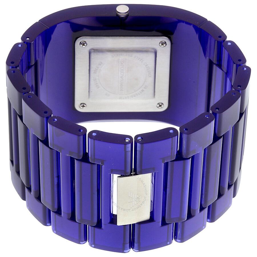 9f4700623860 Emporio Armani Donna Catwalk Blue Dial Ladies Fashion Watch AR7398 ...