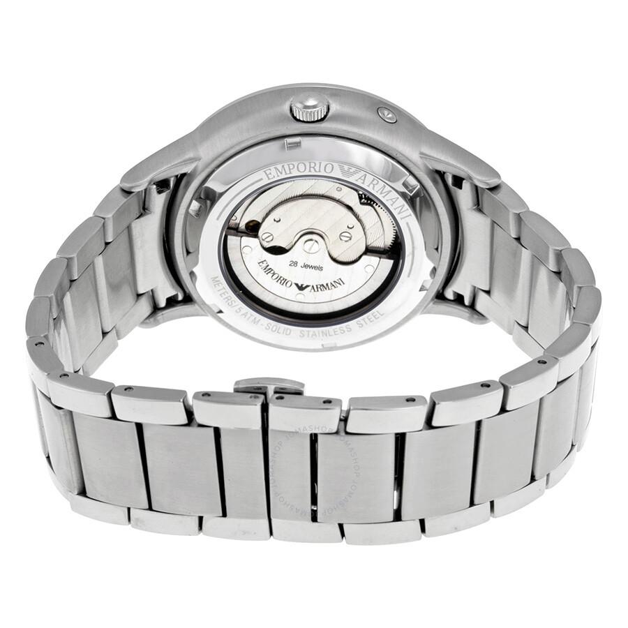 4d2269c6e987 ... Emporio Armani Meccanico Automatic Silver Dial Men s Watch AR4663 ...