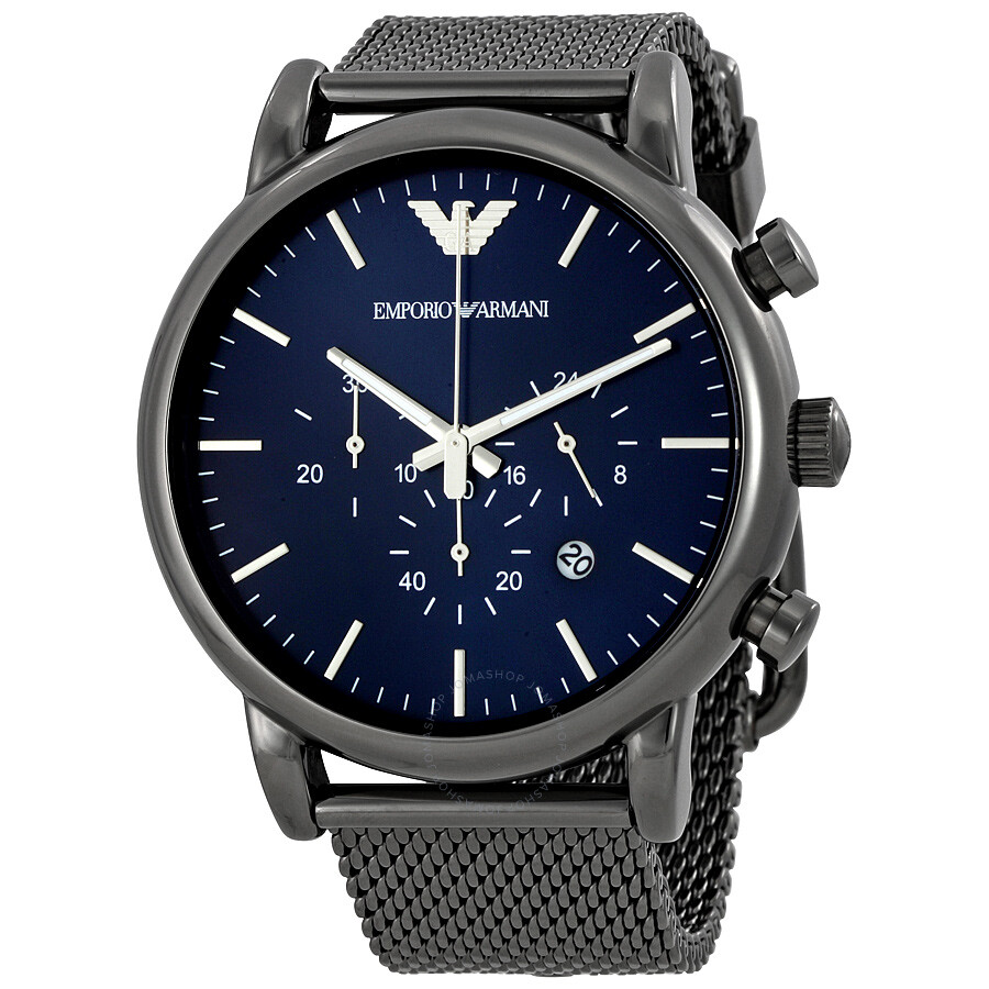 emporio armani sport chronograph men 39 s watch ar1979 emporio armani watches jomashop