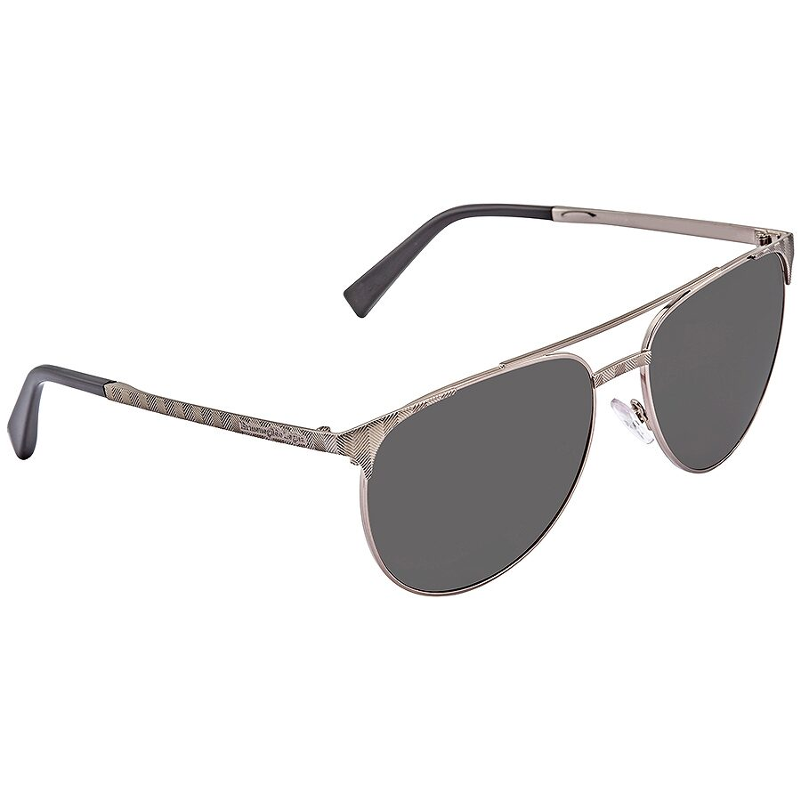 86f5a4230 Ermenegildo Zegna Smoke Polarized Aviator Men's Sunglasses EZ004012D58 ...