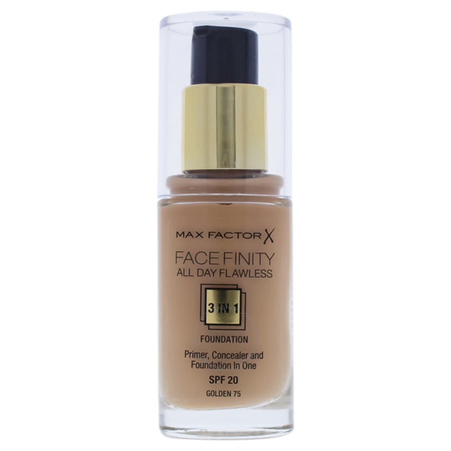 Facefinity All Day Flawless 3 In 1 Foundation SPF20 - # 75 Golden by Max Factor for Women - 1 oz Foundation