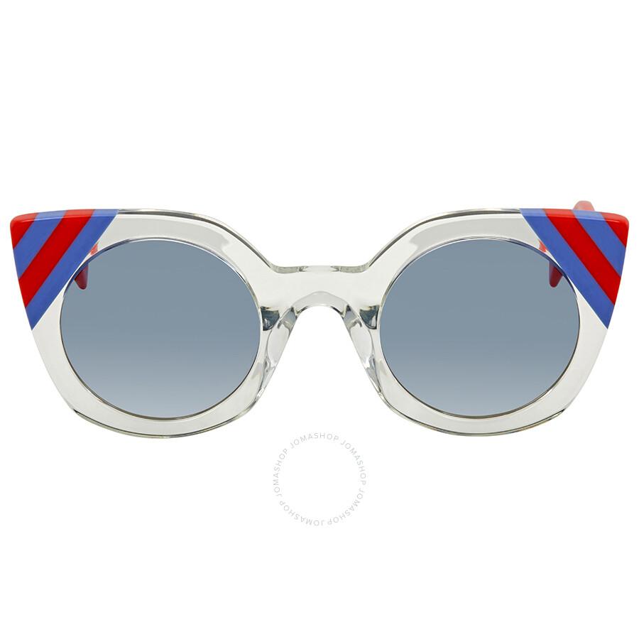 d27da27310 Fendi Blue Gradient Cat Eye Sunglasses FF 0240 S 1ED UY 47 - Fendi ...