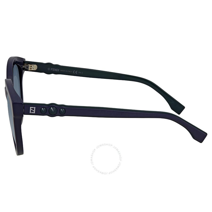0268S Gradient Sunglasses Blue FF 56 PJP08 Ladies Fendi xPOzqpwZx