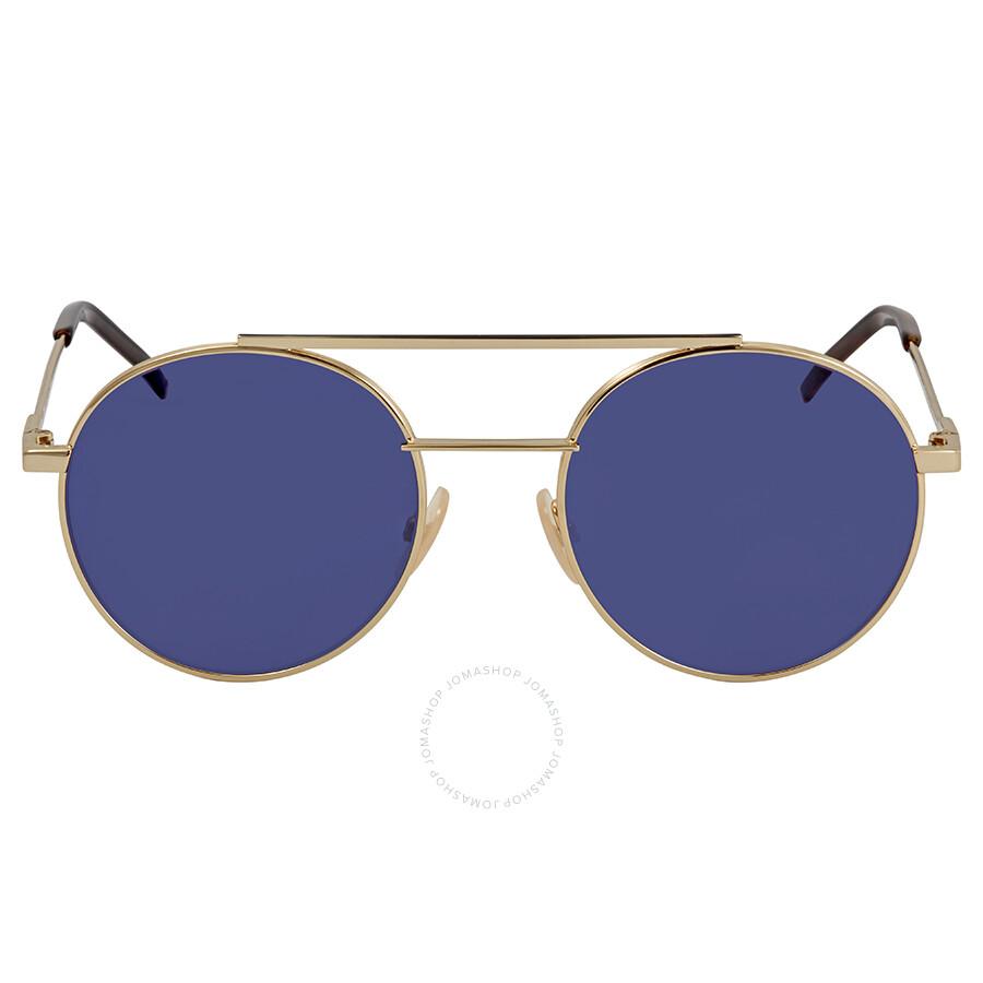 529a5bb94c Fendi Round Sunglasses FF 0221 S 000 KU 52 - Fendi - Sunglasses ...