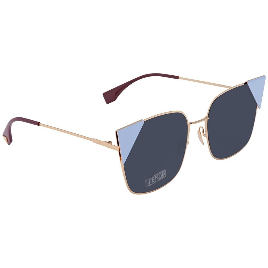 Fendi 芬迪 FF 0191/S 000 A9 55 女士猫眼太阳镜