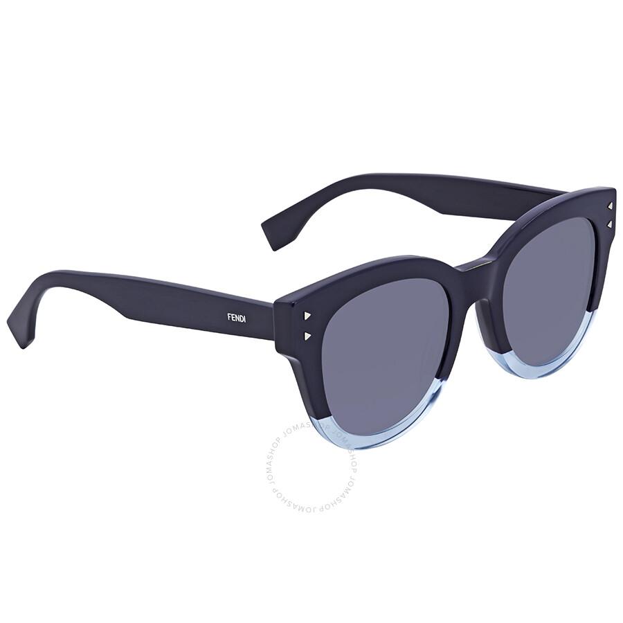 bf3289e51a35 Fendi Blue Sunglasses FF 0239/S PJP/GO 50 - Fendi - Sunglasses ...