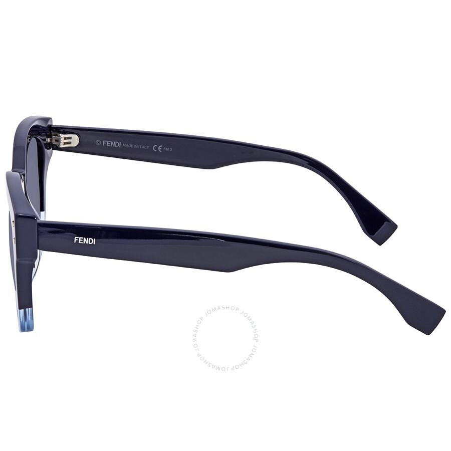b64635a0d829 Fendi Blue Sunglasses FF 0239 S PJP GO 50 - Fendi - Sunglasses ...