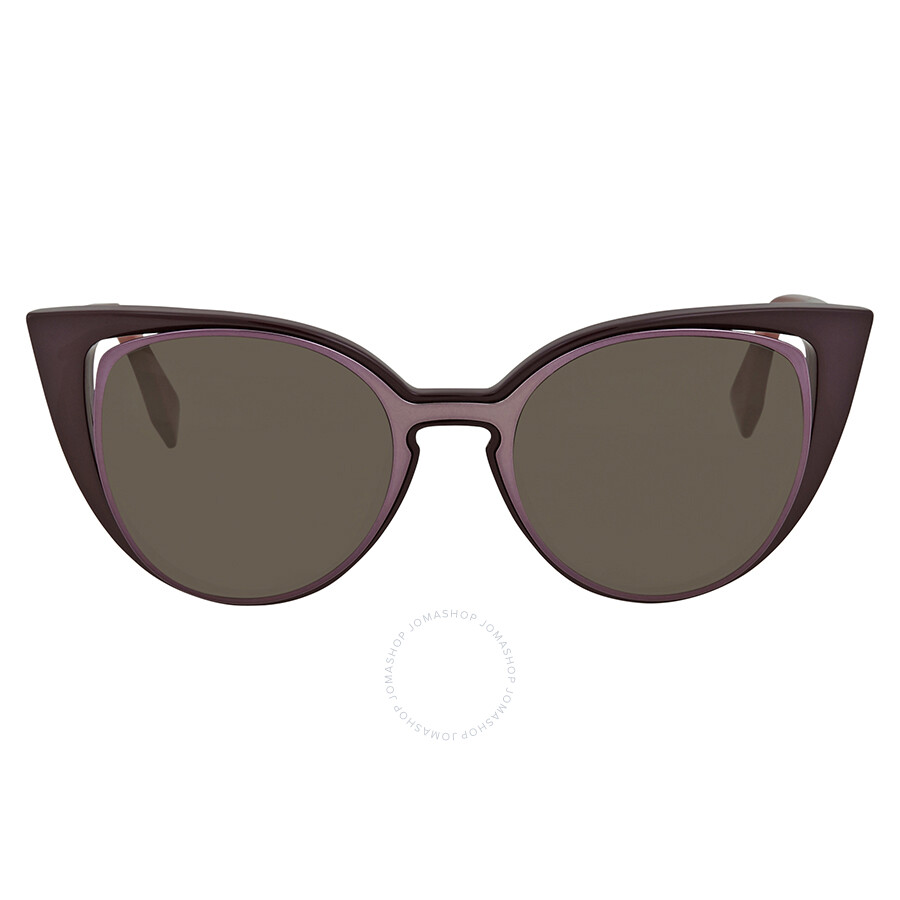 058a2a50a10c Fendi Brown Cat Eye Sunglasses FF 0136 S U2N518H - Fendi ...