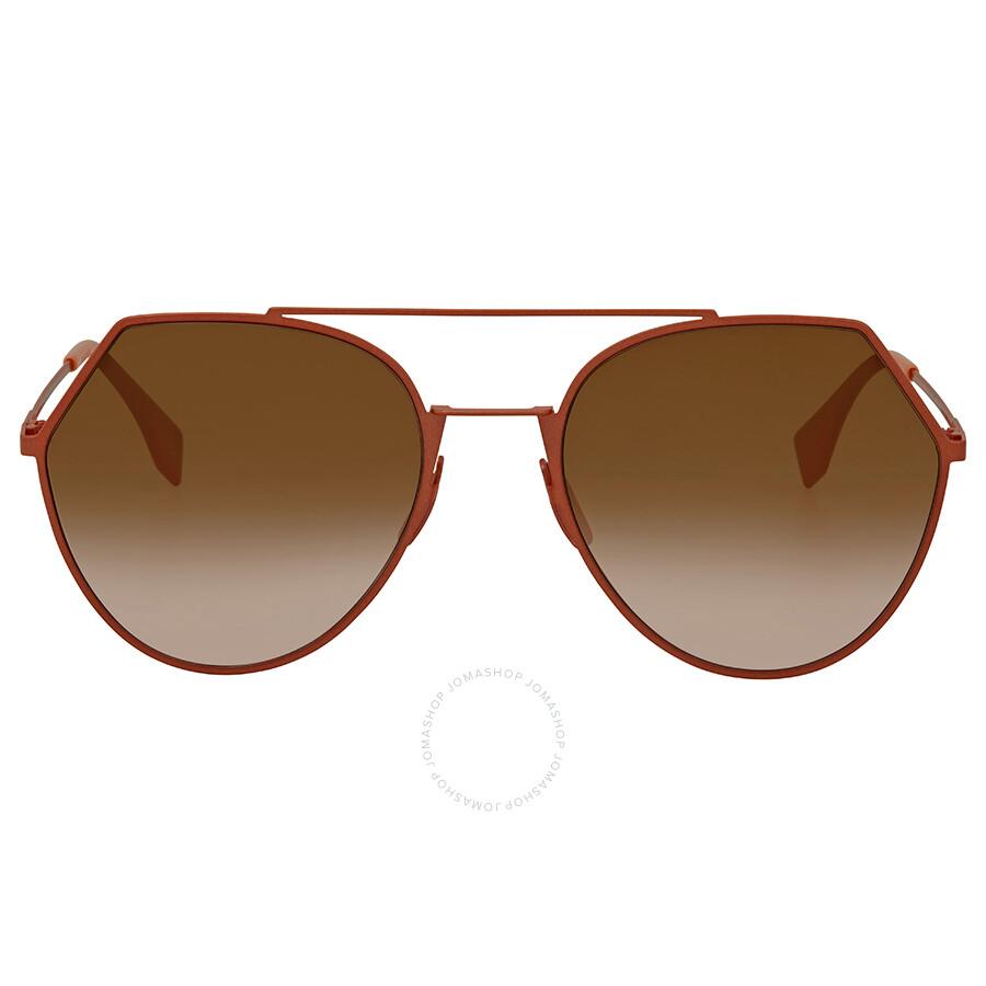 6a72db12ae Fendi Round Ladies Sunglasses FF 0194 S 73353 - Fendi - Sunglasses ...
