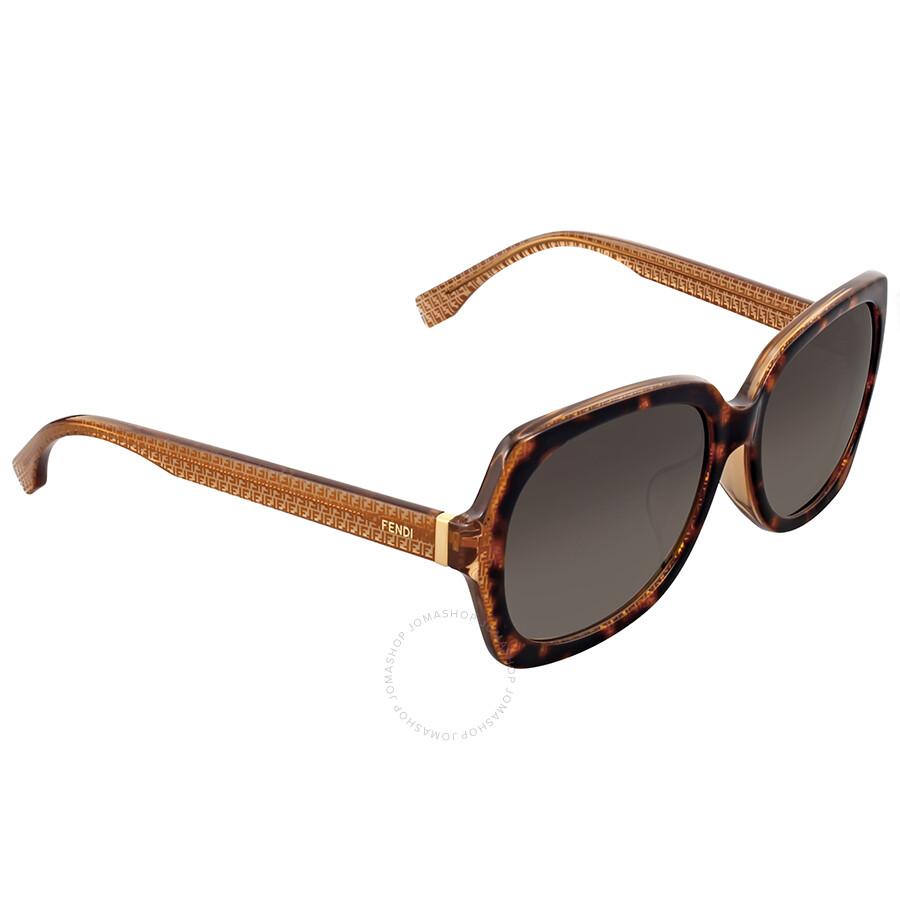 Fendi Brown Gradient Square Sunglasses Fendi Brown Gradient Square  Sunglasses ... 280cb92d51266