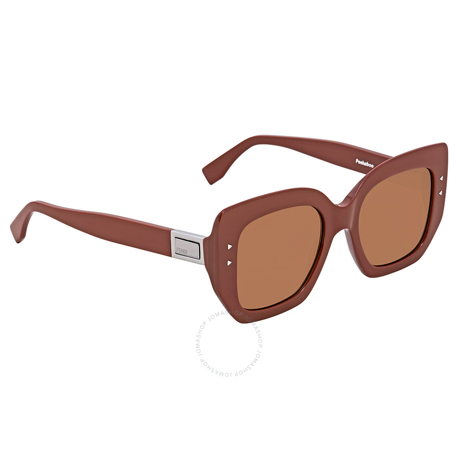 909f20baf7 Fendi Brown Square Ladies Sunglasses FF 0267 S 2LF 70 51 - Fendi ...
