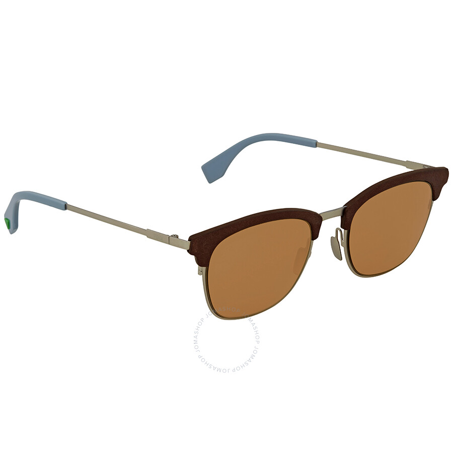 b27b259d67 Fendi Brown Square Sunglasses FF 0228 S 4ES 70 50 - Fendi ...