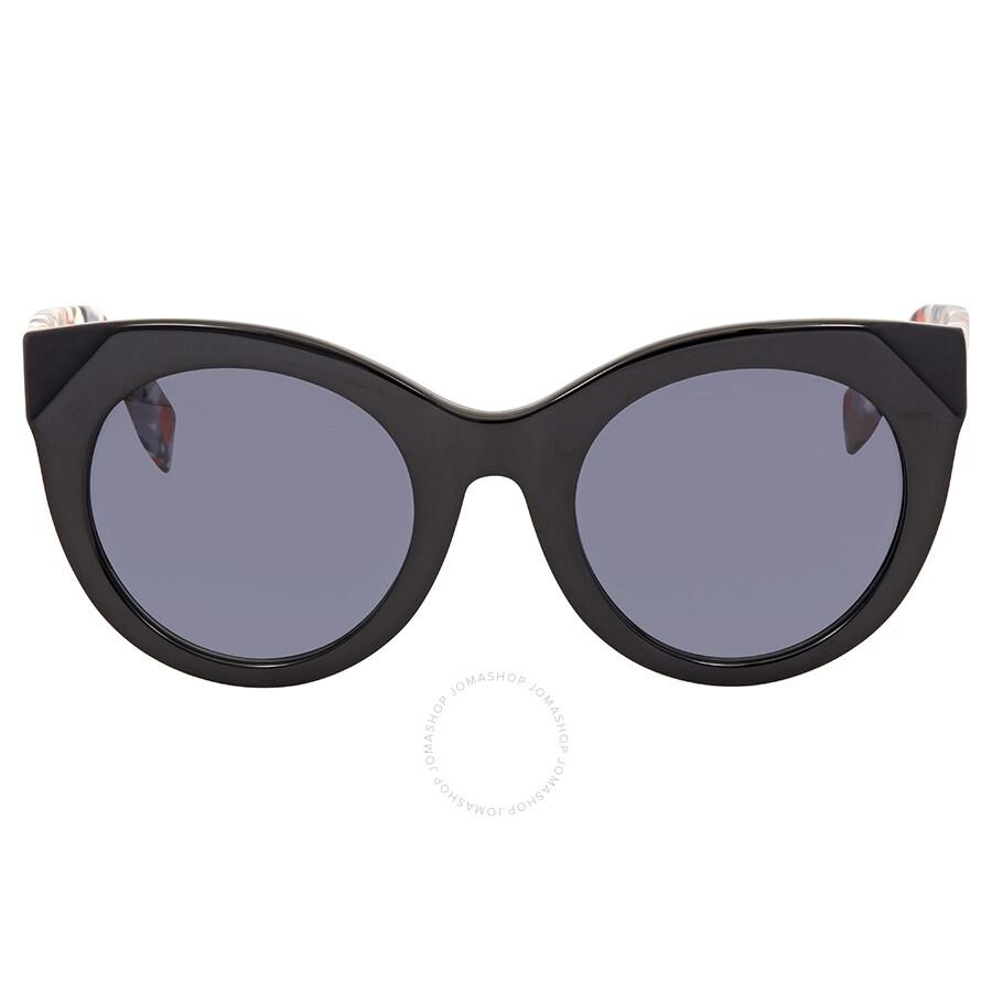 dfb9653f4a2 ... Fendi Chromia Grey Gradient Cat Eye Sunglasses FF 0203 F S 738HD ...