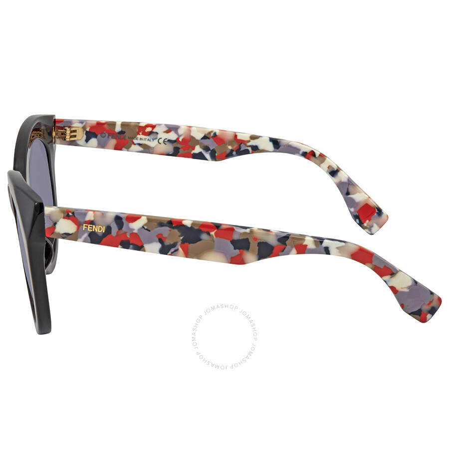 25c218da54a Fendi Chromia Grey Gradient Cat Eye Sunglasses FF 0203 F S 738HD ...