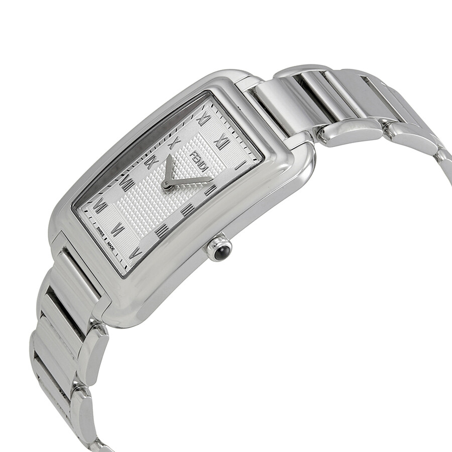 da13fc073eab ... Fendi Classico Silver Dial Men s Stainless Steel Watch F701016000 ...