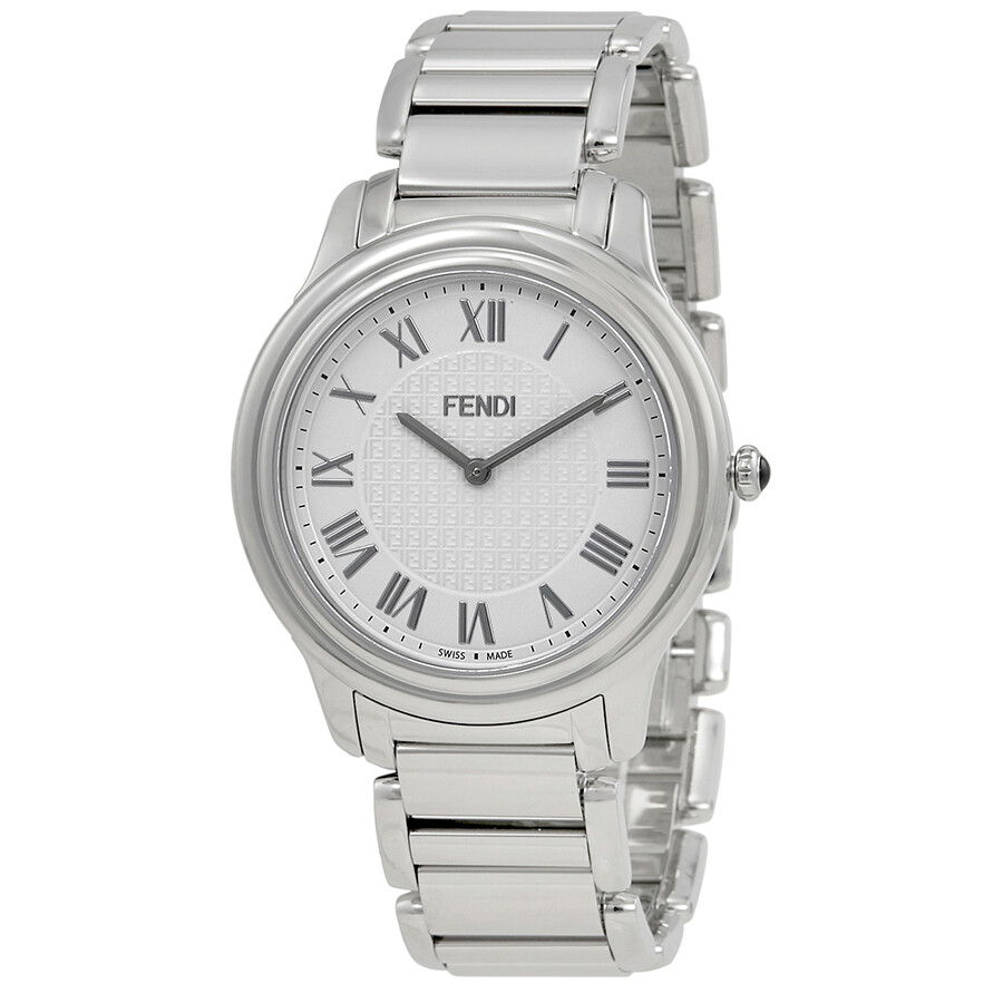 02136bef1708 Fendi Classico White Dial Men s Stainless Steel Watch F251014000 ...