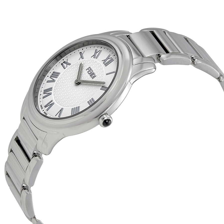 577a01d3e9b2 ... Fendi Classico White Dial Men s Stainless Steel Watch F251014000 ...
