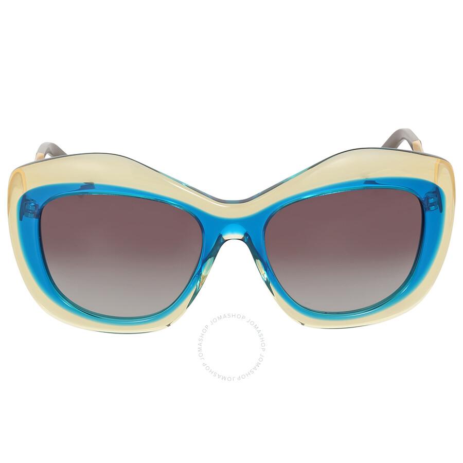 a2e464edb0 Fendi Colorblock Blue Havana Sunglasses - Fendi - Sunglasses - Jomashop