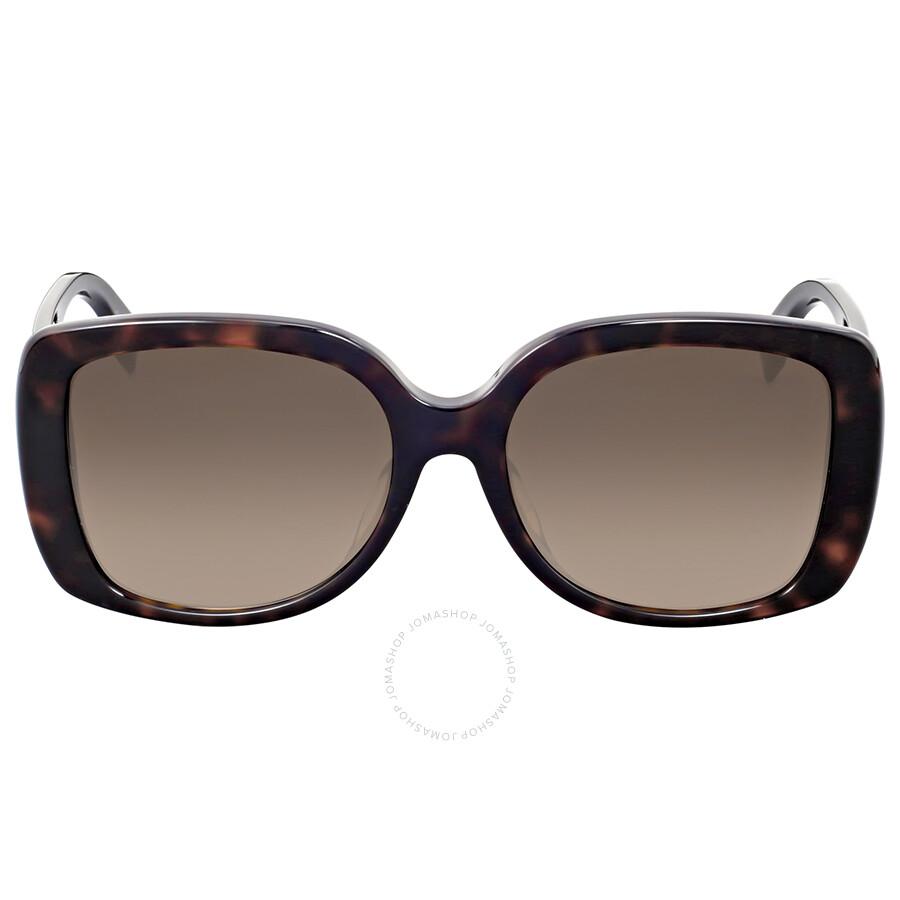 faa0cf82b731b Fendi Dark Havana Square Sunglasses - Fendi - Sunglasses - Jomashop