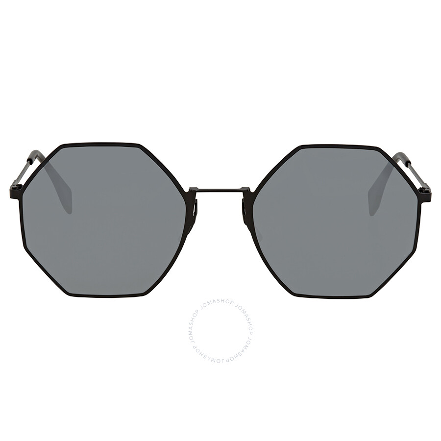 b2588570001 ... Fendi Eyeline Grey Mirror Round Sunglasses FF 0292 S 807 T4 53 ...