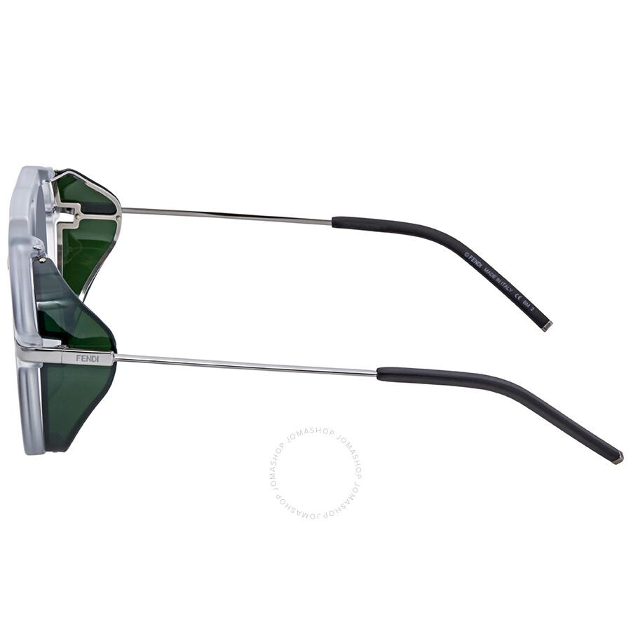 b10eb375496f Fendi Fantastic Grey Aviator Men s Sunglasses FF M0012 S 900 IR 52 ...